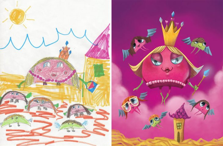 Proyecto Monstruos - reina regordeta rosa