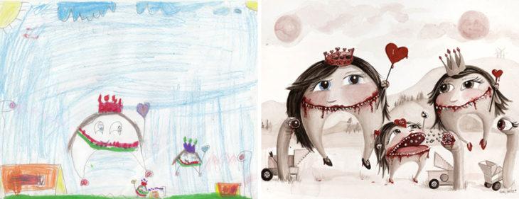 Proyecto Monstruos - dientes monstruosos