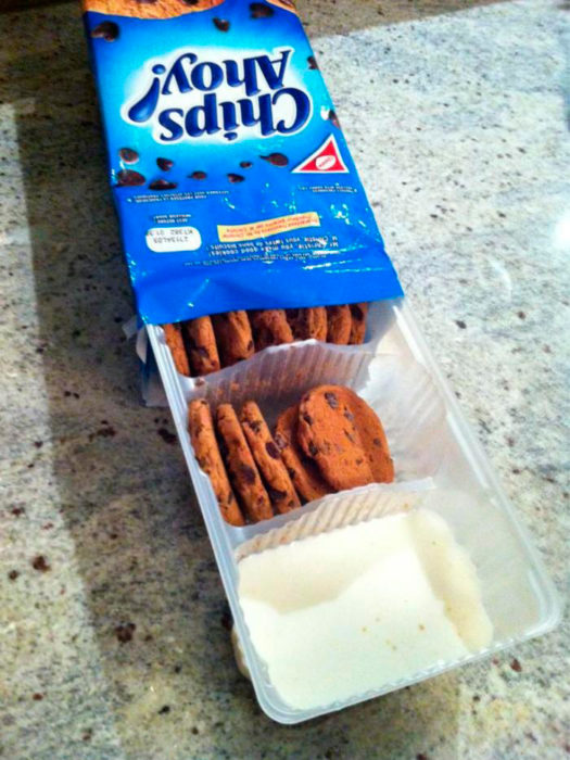 con leche incluida
