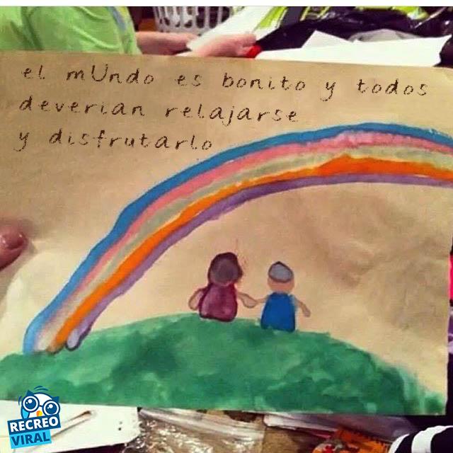 Notas niños: el mundo es bonito