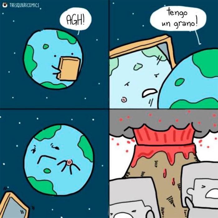 La tierra también tiene barros