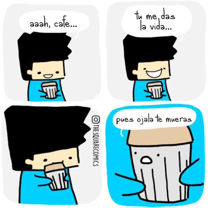 El café ha hablado