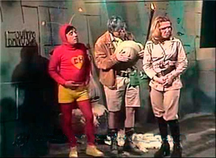 El chapulin colorado y los exploradores