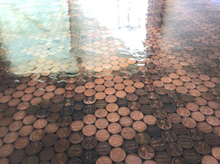 Monedas brillosas