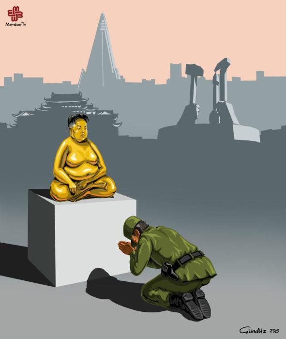 Policía en Corea del Norte
