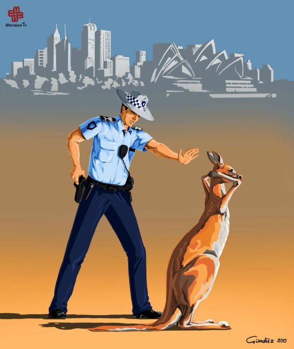 Policía en Australia