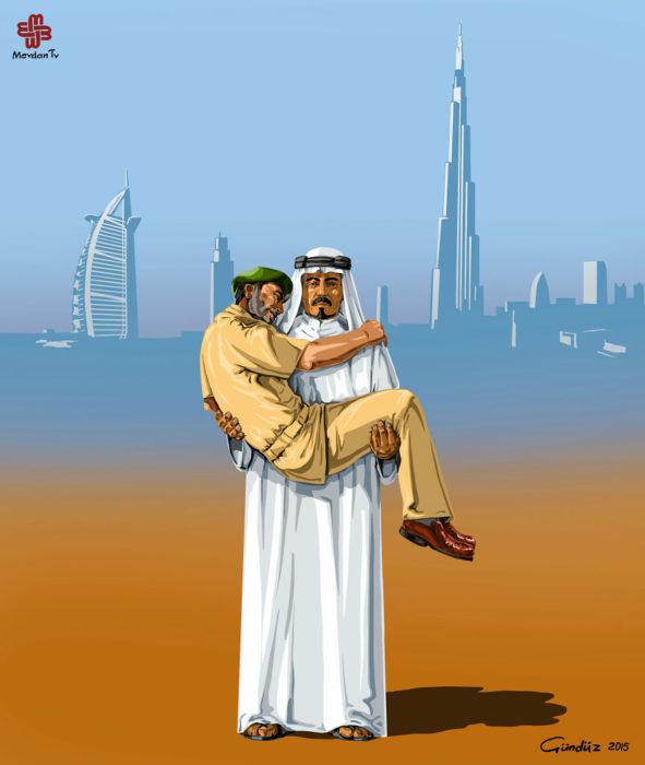 Policía de Los Emiratos Árabes