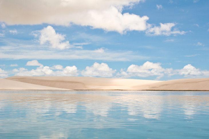 desierto inundado