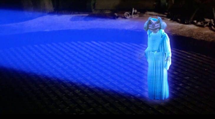 Batalla PS - Rana leia luz azul