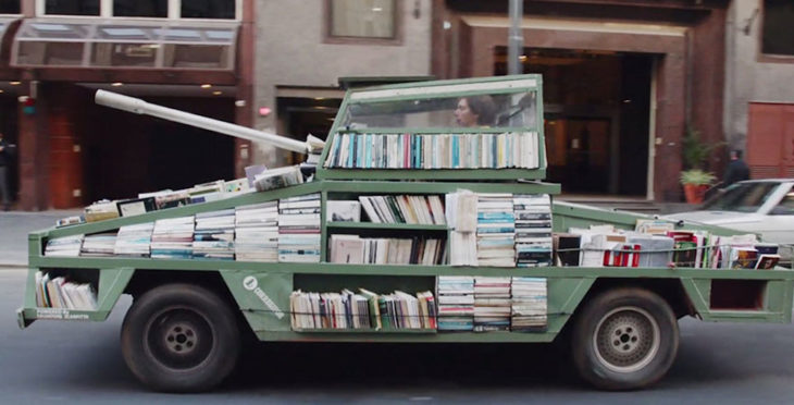 Tanque de libros