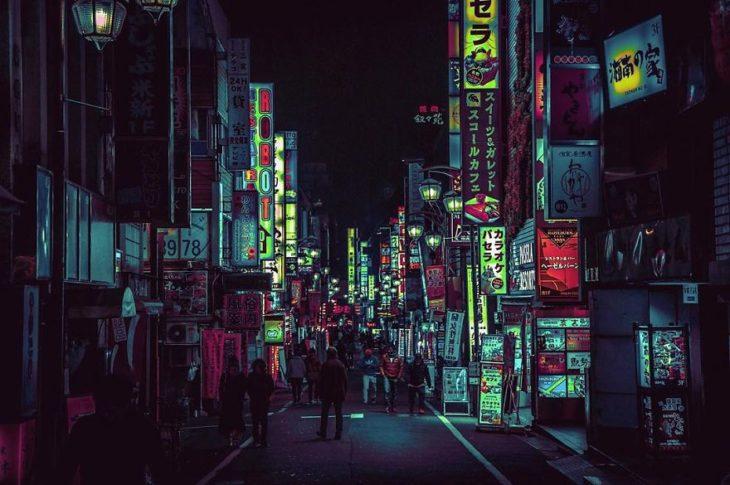 Fotografía de la ciudad de tokio