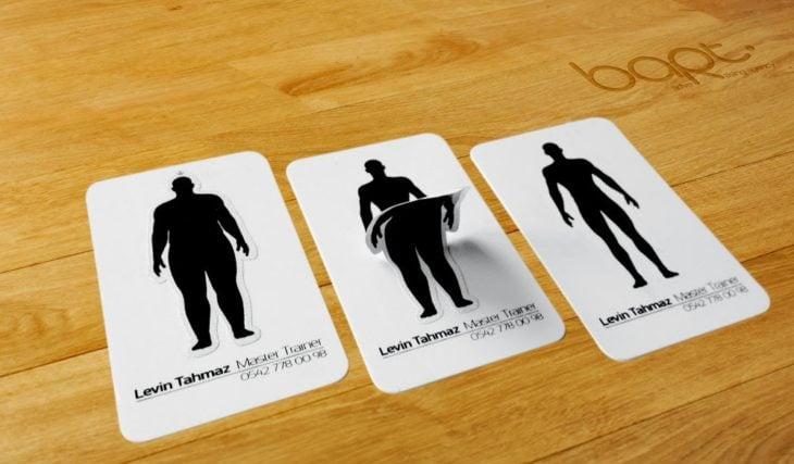 Tarjetas de presentación originales - estambas obesidad