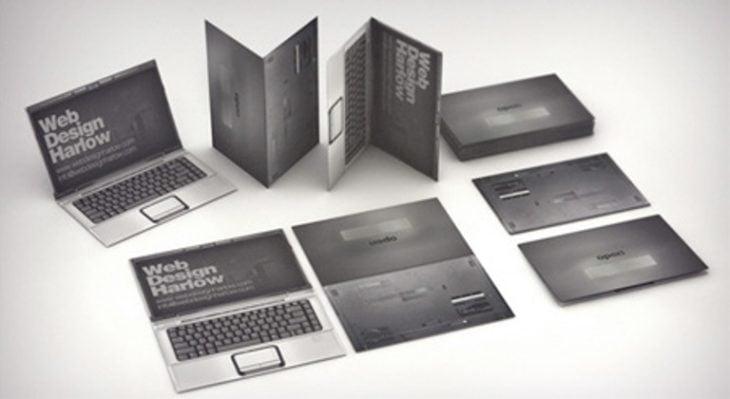 Tarjetas de presentación originales - computadoras