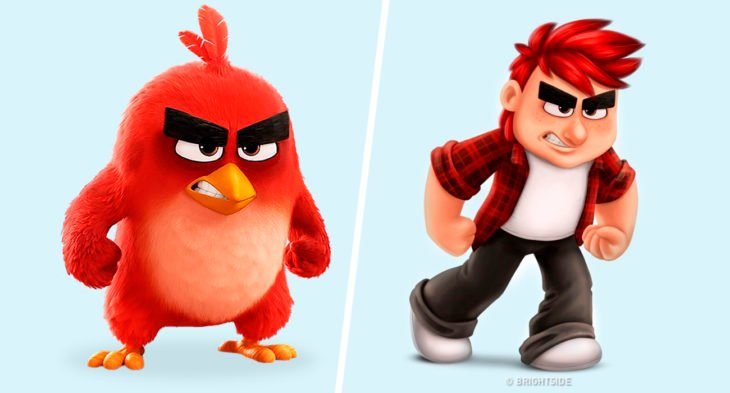 red de angry birds si fuera real