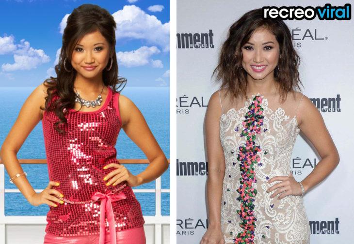 Brenda Song antes y después