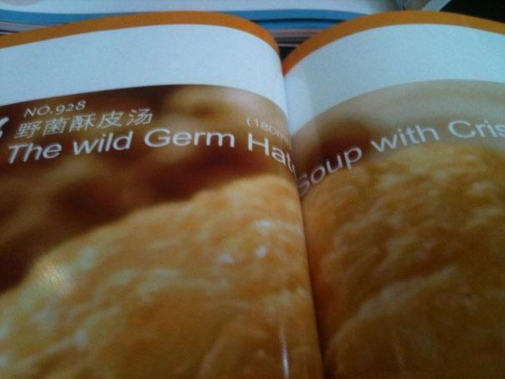 imagen de una sopa en revista