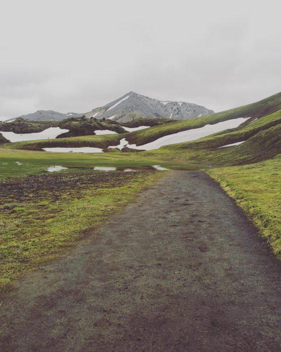 camino natural en islandia