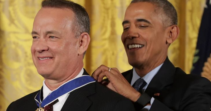 Tom Hanks recibe Medalla de la Libertad
