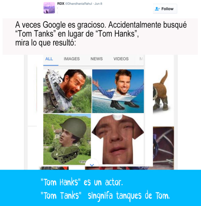 resultado de google de tom tanks
