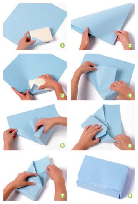 método japonés para envolver regalos