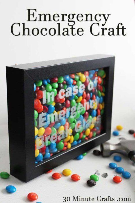 caja de dulces de emergencia