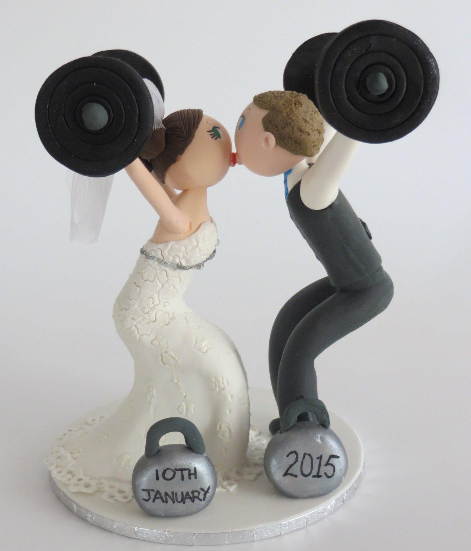 Crossfit Wedding Cake