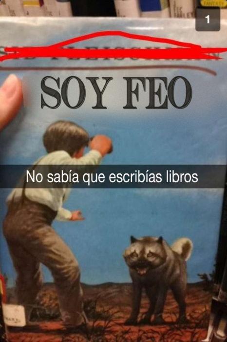 libro que dice soy feo