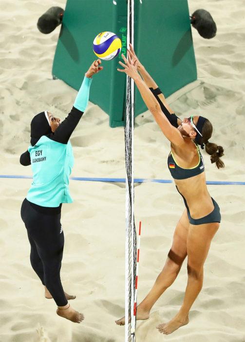 Preliminar de Voleibol de playa, Egipto vs. Alemania
