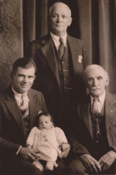 foto generacional tomada en 1933