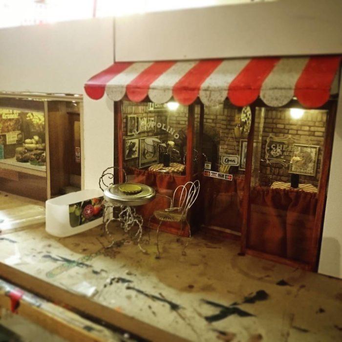 Cafetería para ratones