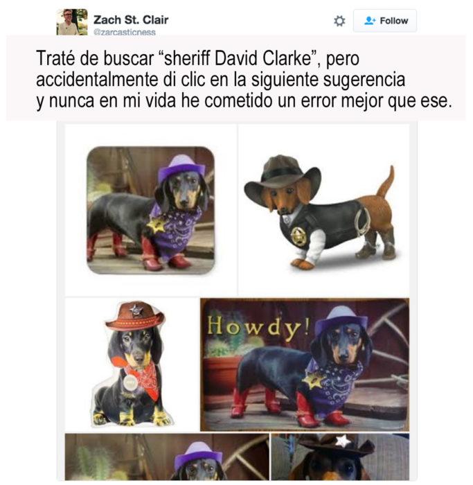 imágenes de perros vestidos de sheriff