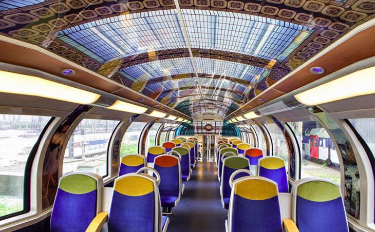 techo de tren museo francés