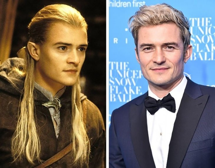 legolas y orlando bloom