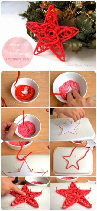 tutorial para hacer estrellas decorativas
