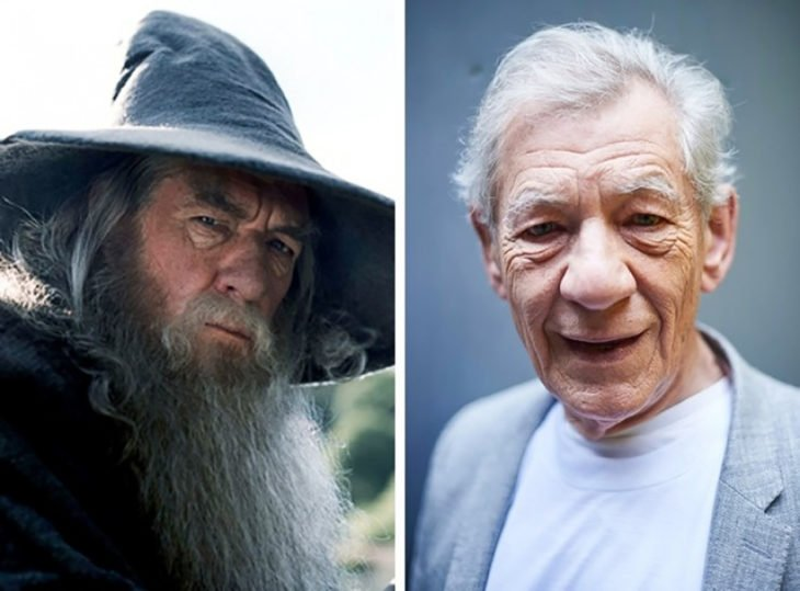gandalf antes e depois