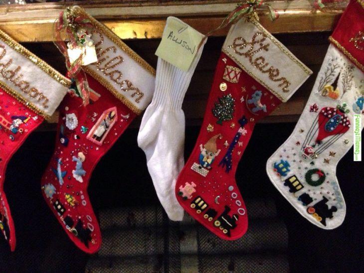 calcetas de navidad