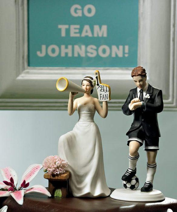 muñecos de boda, admiradora número 1