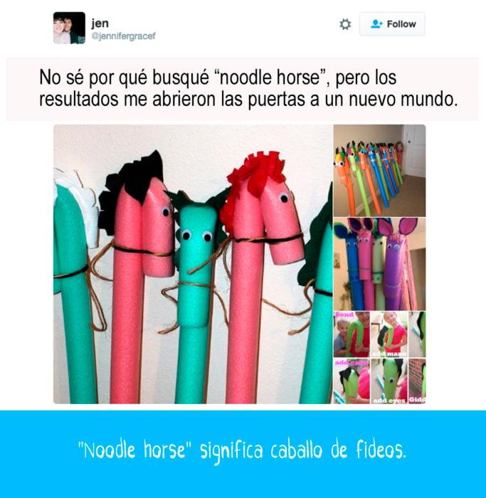 imágenes de caballos de hule espuma