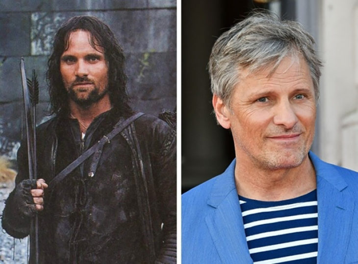 aragorn antes y despues