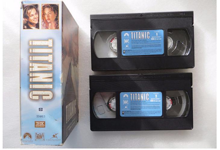 VHS del titanic