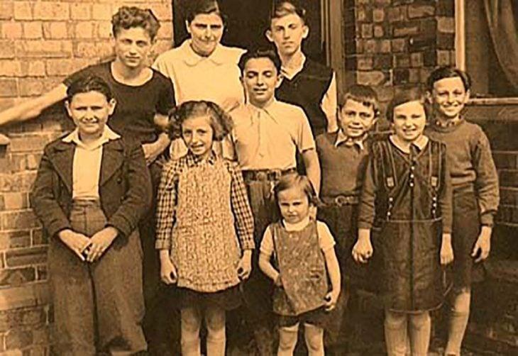 niños del holocausto judío