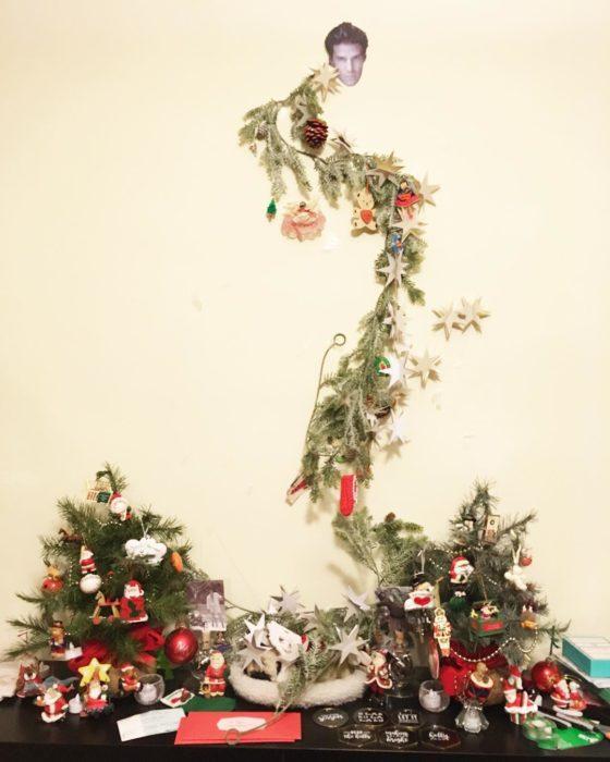 árbol de navidad gracioso