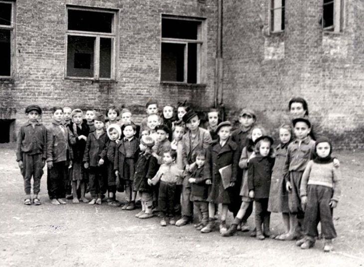 niños sobrevivientes del holocausto