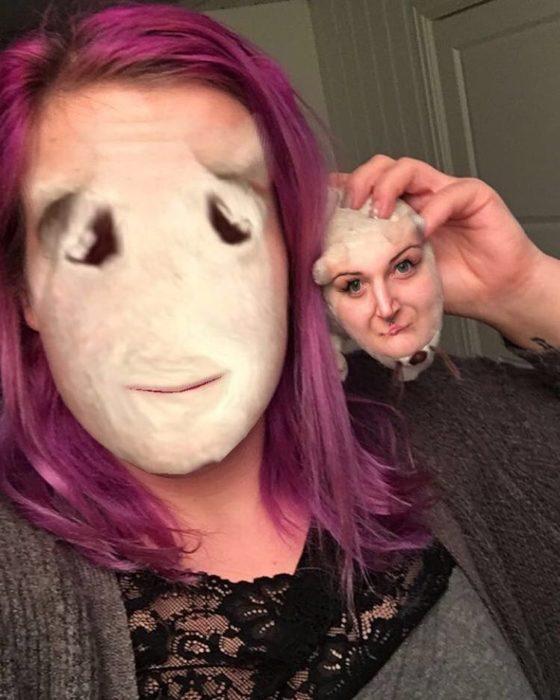faceswap tétrico de mujer