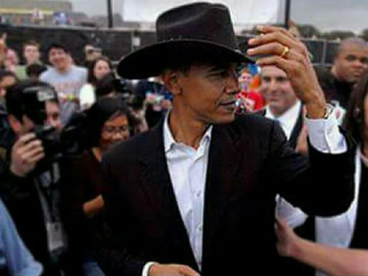 obama con sombrero