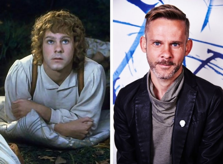 Dominic Monaghan antes e depois