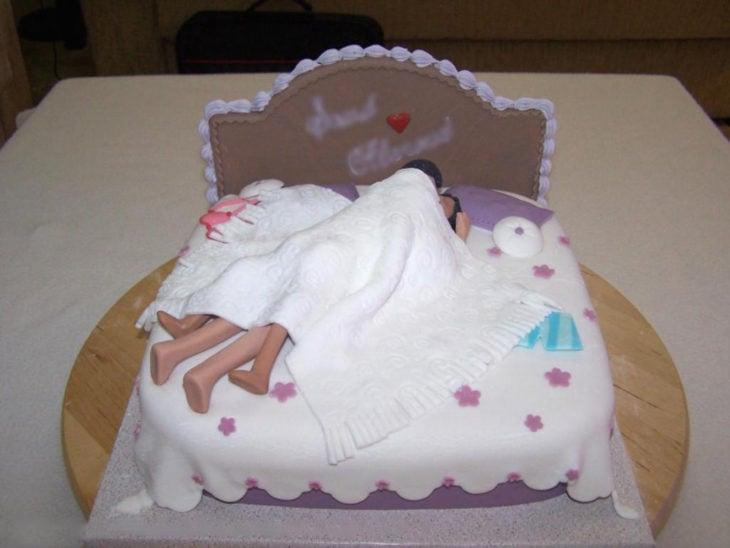 pastel de noche de bodas