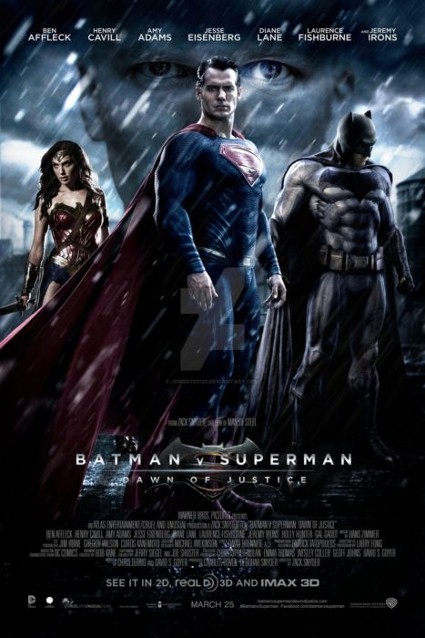 póster de la película Batman Vs. Superman