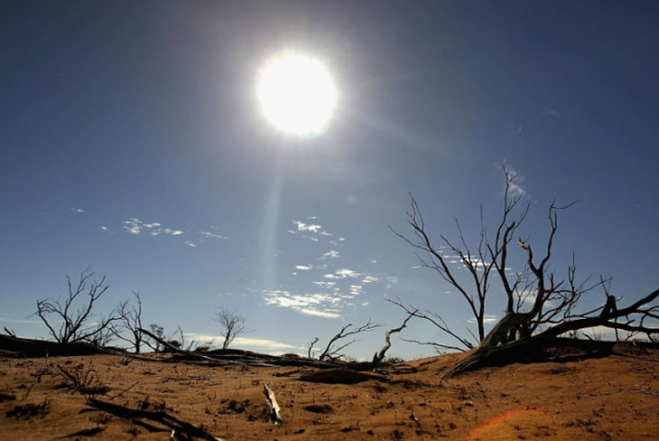 calor insoportable a consecuencia del calentamiento global
