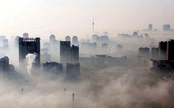 contaminación en las grandes ciudades